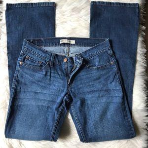 6cff374ab90 Levi's. Levi's 524 Too Superlow Stretch Blue Jeans size 7L